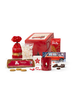 Kerstpakket It's christmas time | Kerstpakkettenkiezer