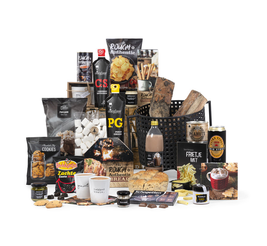 Kerstpakket Stoer genieten - 21% BTW