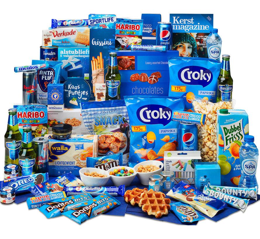 Kerstpakket Ik hou van blauw - 21% BTW