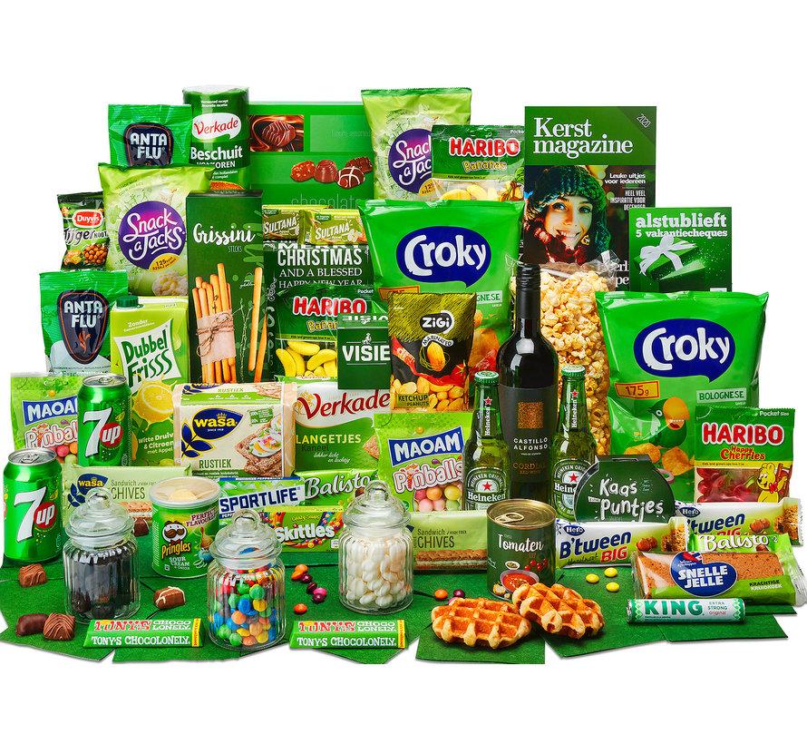 Kerstpakket Gevuld groen - 9% BTW