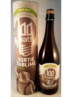 Sortie Sublime 0,75 liter, Champagnebier uit de Stadsbrouwerij Eindhoven