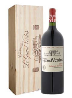 Chateau le Grand Verdus Magnum in kist