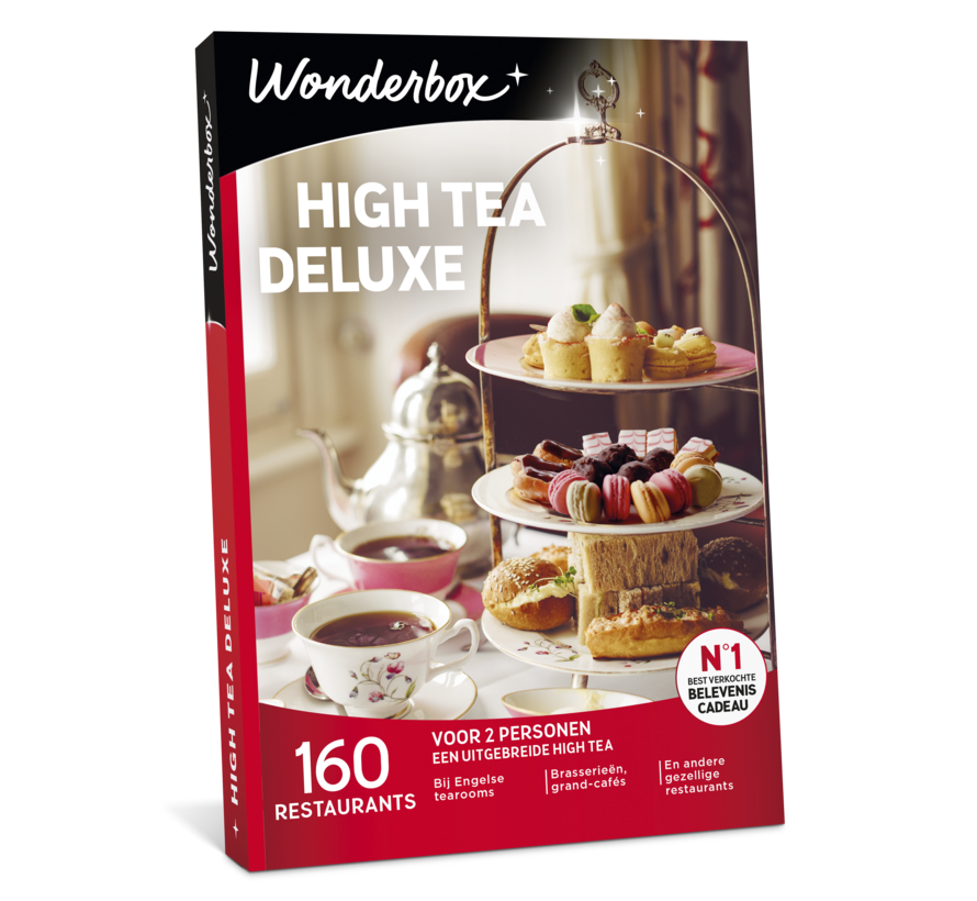 Wonderbox High Tea Deluxe