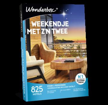 Wonderbox Weekendje met zijn twee