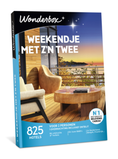 Wonderbox Weekendje met zijn twee - Digitaal