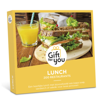 Gift for you - Lunch - Digitaal