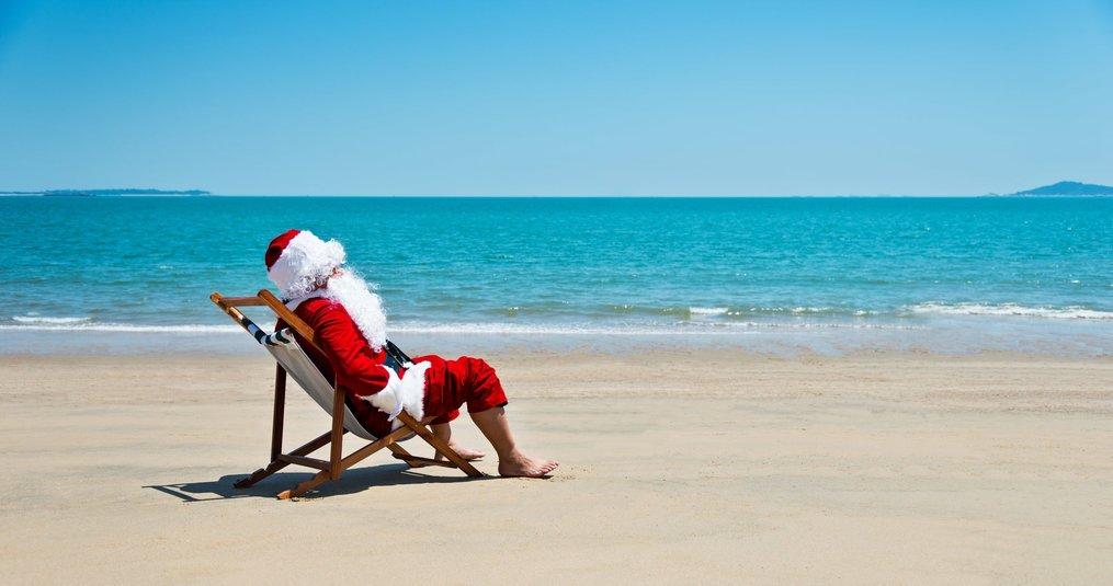 Kerst in een warm klimaat
