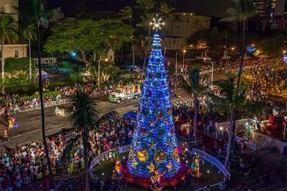 Kerst in Hawaii