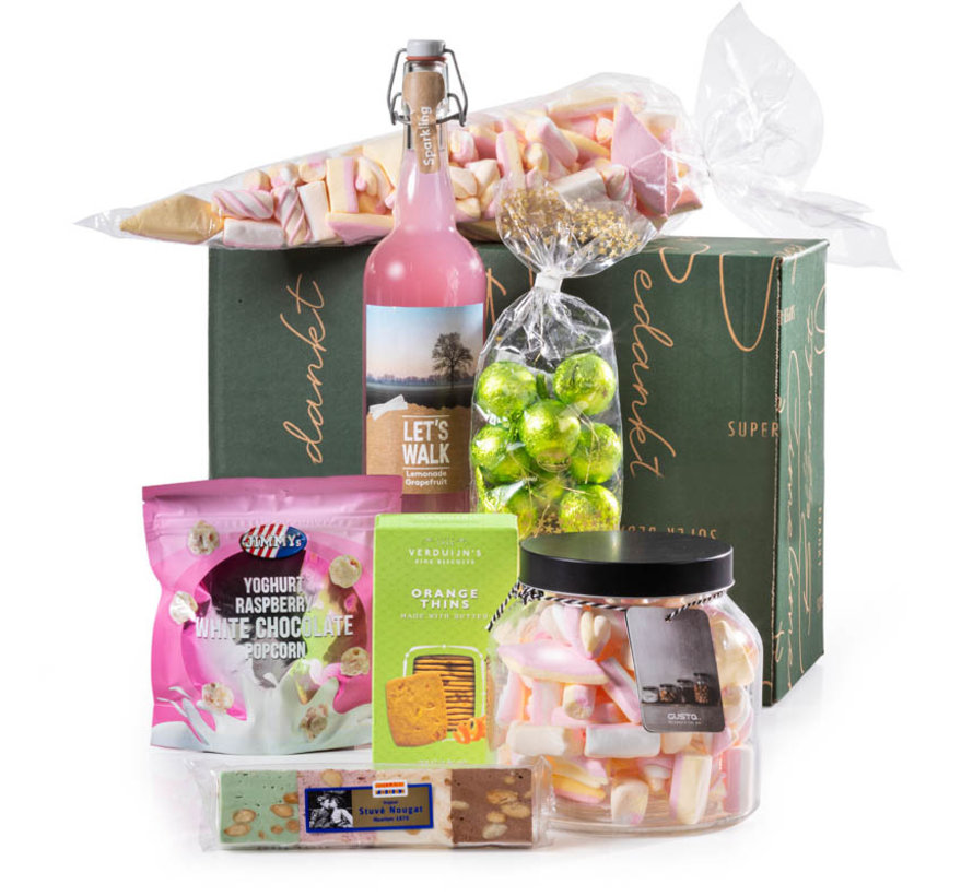 Kerstpakket Zoete Snoeppot - 21% BTW