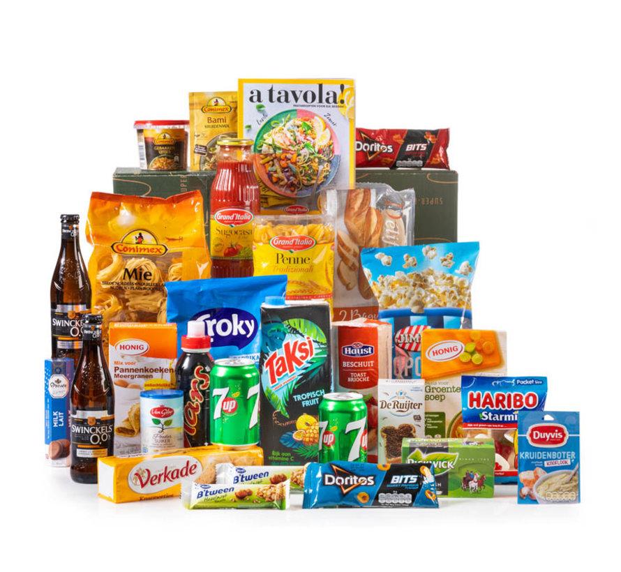 Kerstpakket Sterke Merken - 21% BTW
