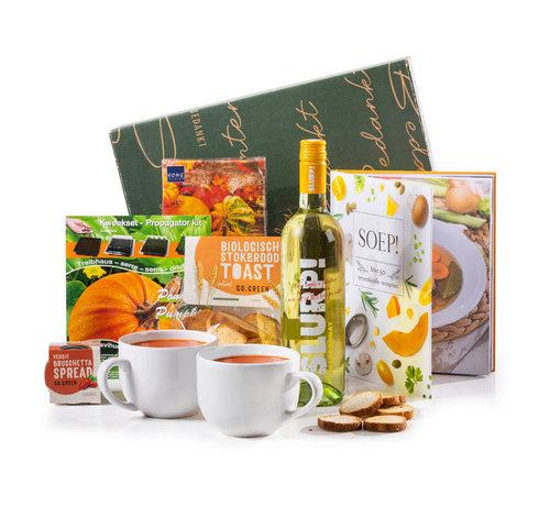 Kerstpakket Soep & Slurp - 21% BTW