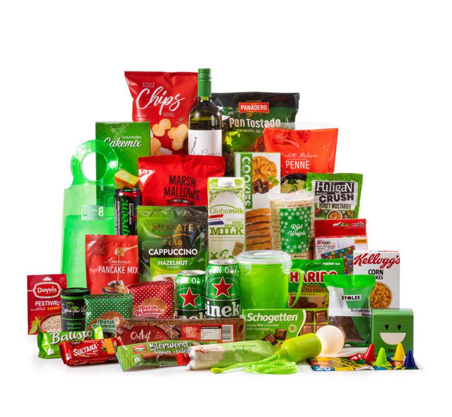 Kerstpakket Rood & Groen XL - 9% BTW
