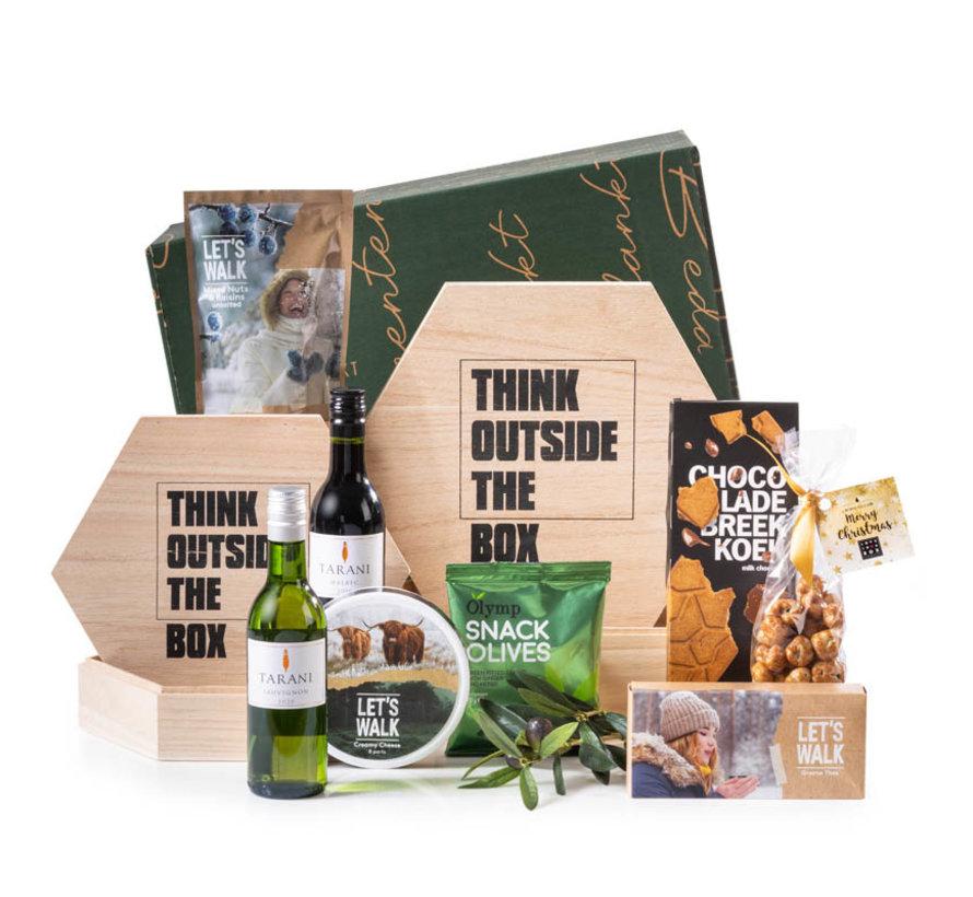 Kerstpakket Outside the box - 21% BTW