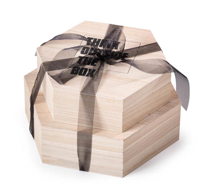 Kerstpakket Outside the box