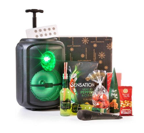 Kerstpakket Karaoke Trolley  - 9% BTW