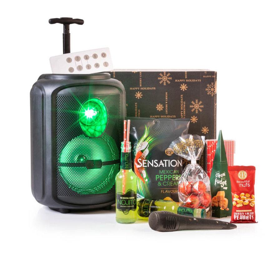 Kerstpakket Karaoke Trolley  - 21% BTW