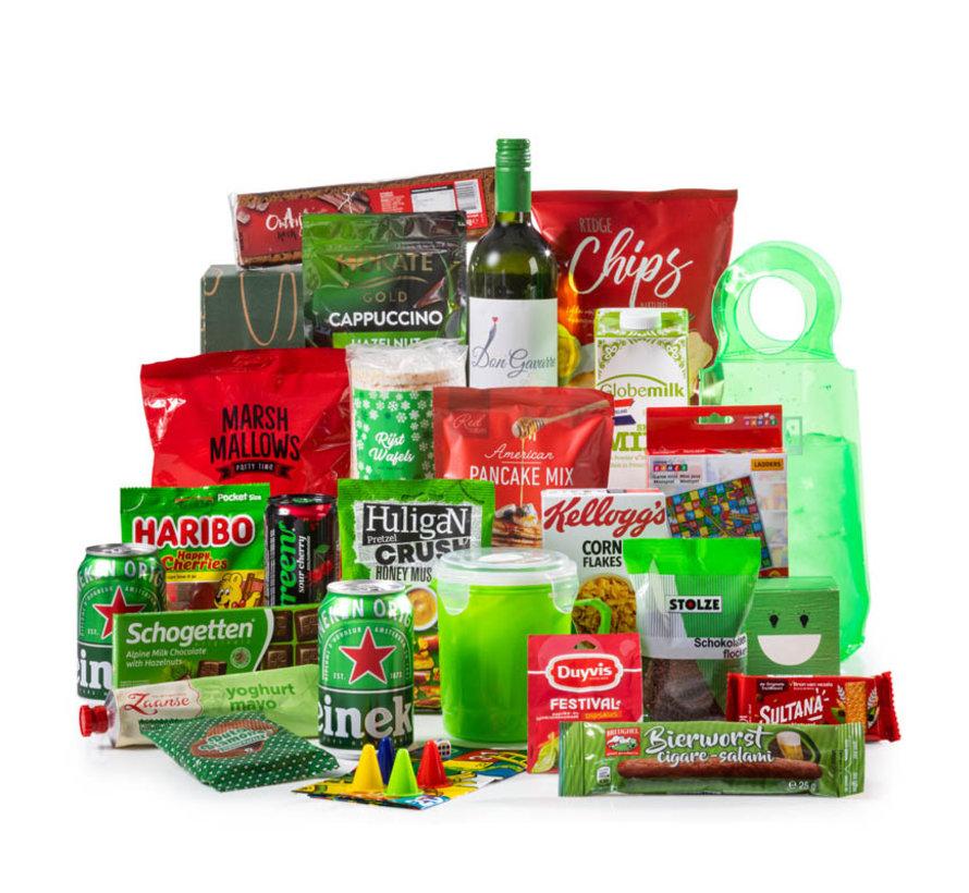 Kerstpakket Fris & Vrolijk - 9% BTW