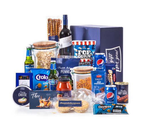 Kerstpakket Familie Blauw - 21% BTW