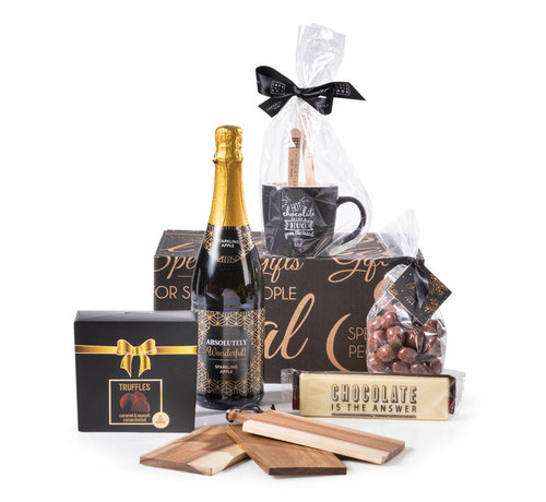 Kerstpakket Chocolate World
