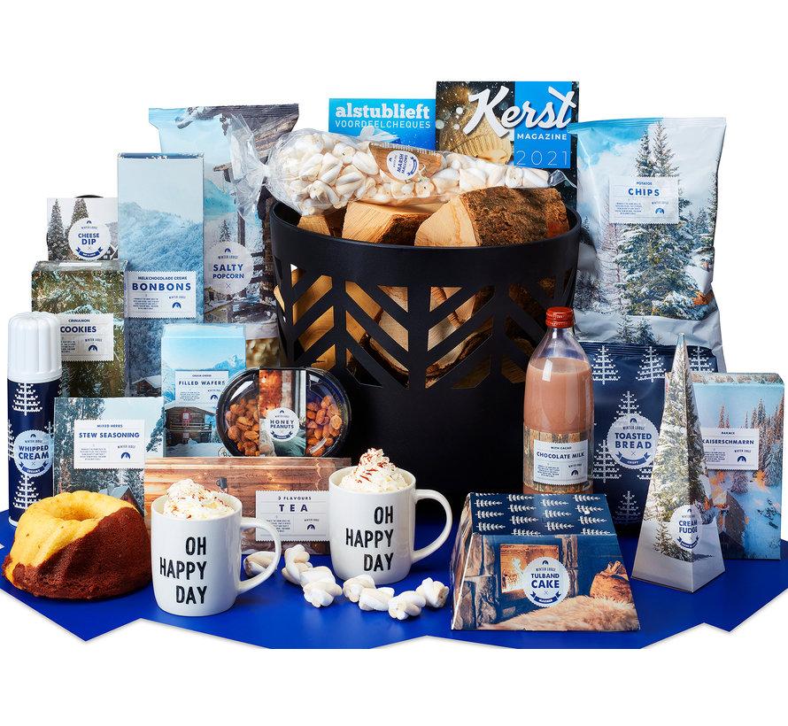 Kerstpakket Wintervuurtje  - 21% BTW