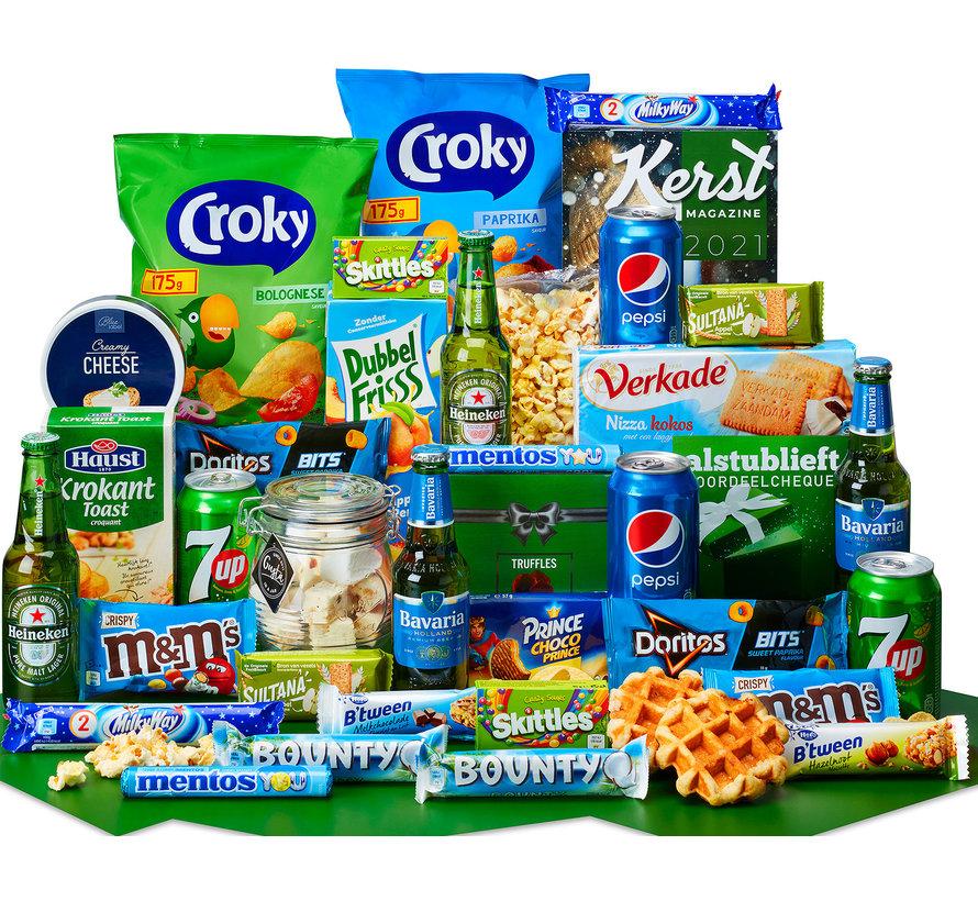 Kerstpakket Winterse snacks - 9% BTW