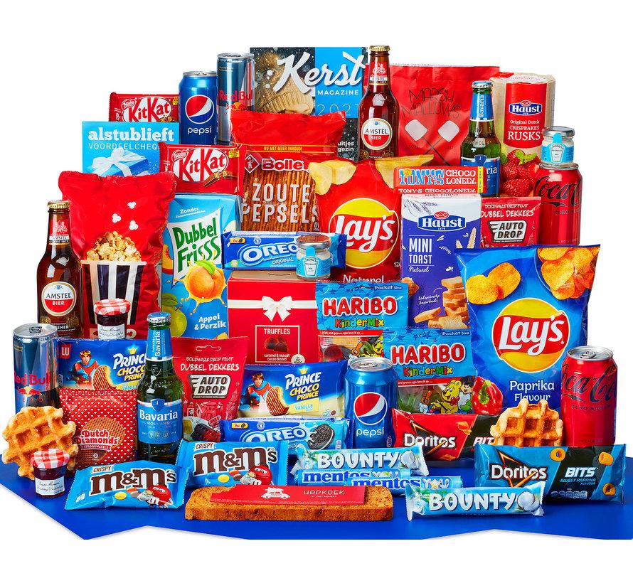 Kerstpakket Voor iedereen een succes - 21% BTW