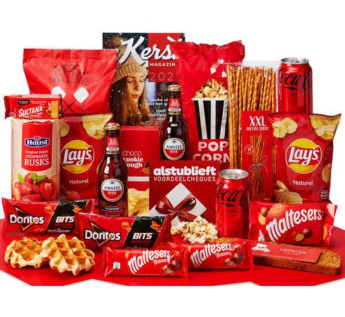 Kerstpakket Vol met lekkers - 9% BTW