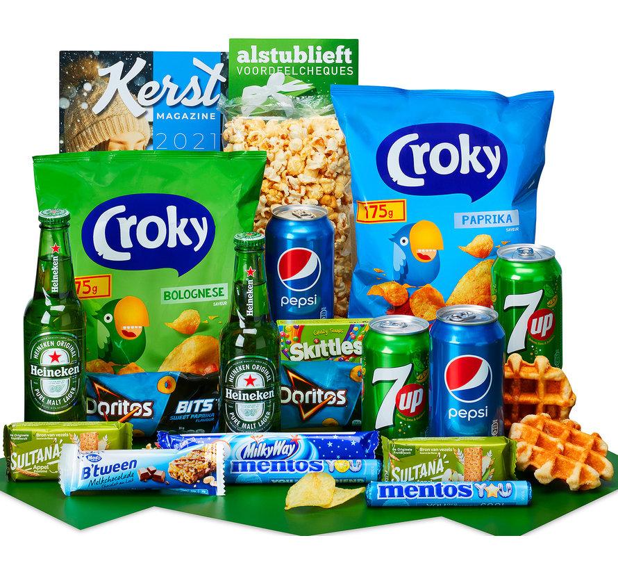 Kerstpakket Tijd voor een break - 21% BTW