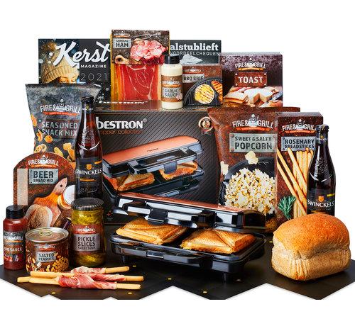 Kerstpakket Stevige Snacks - 21% BTW