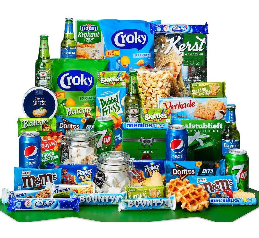 Kerstpakket Snackpot - 9% BTW