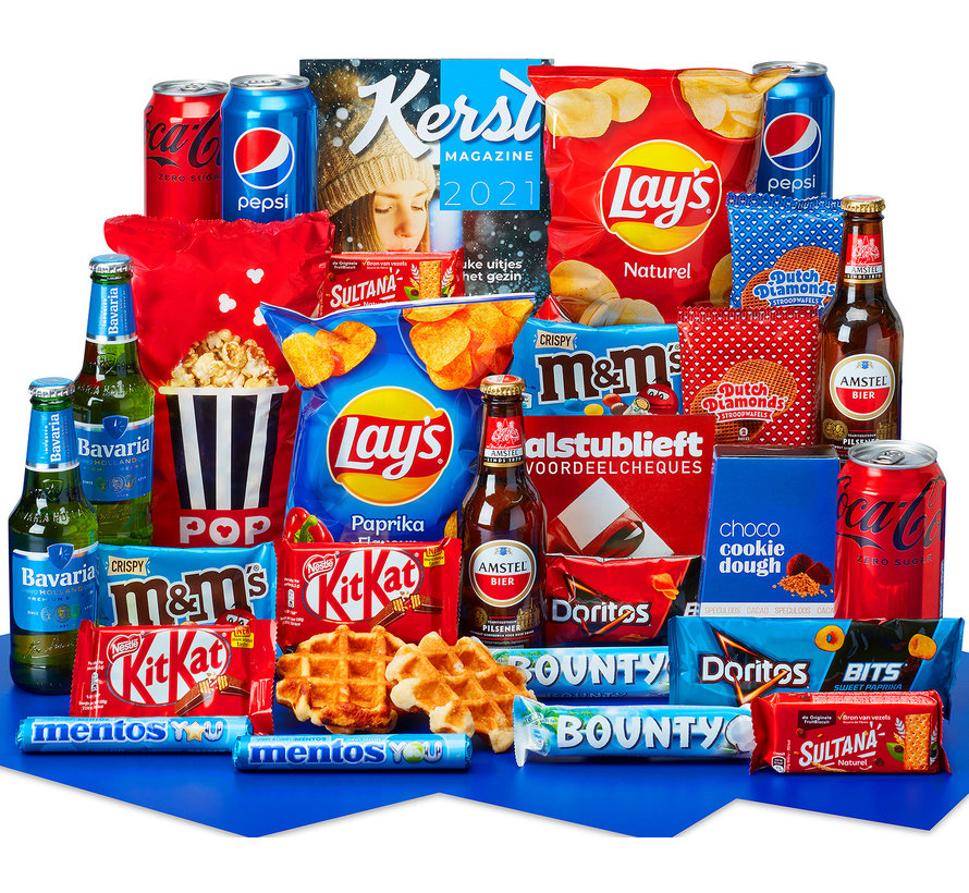 Kerstpakket Samen snacken - 21% BTW