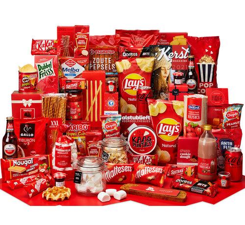 Kerstpakket Genieten in rood - 21% BTW