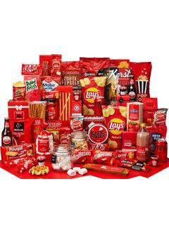 Kerstpakket Genieten in rood