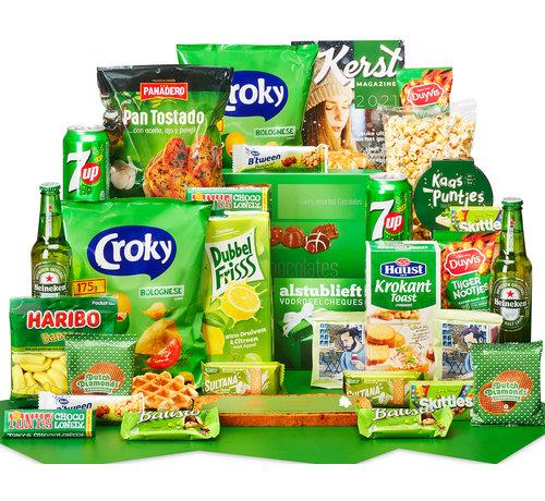 Kerstpakket Gelukkig groen
