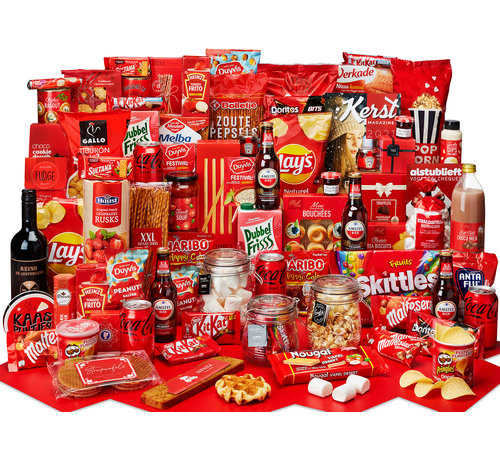Kerstpakket Extra veel lekkers - 9% BTW