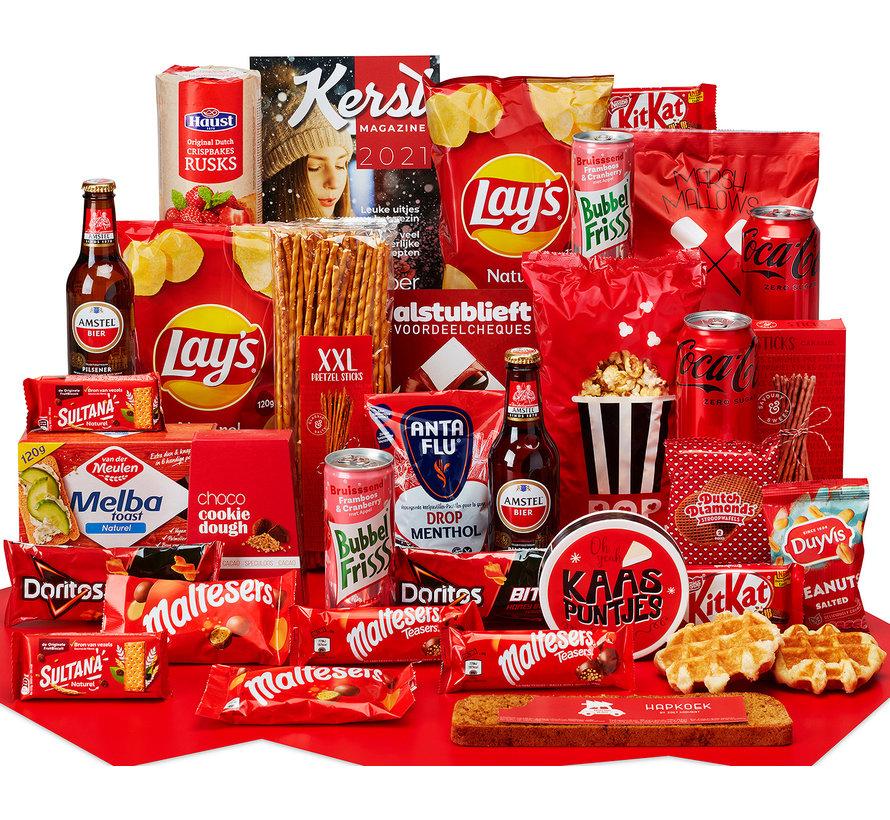 Kerstpakket Een gezellig moment - 9% BTW