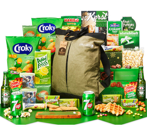 Kerstpakket Eco-rugzak - 9% BTW