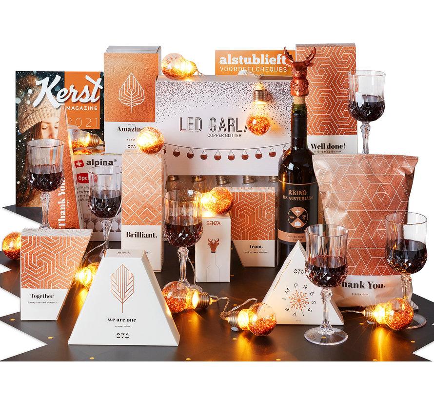 Kerstpakket Drankje doen
