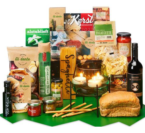 Kerstpakket Diner bij kaarslicht - 9% BTW