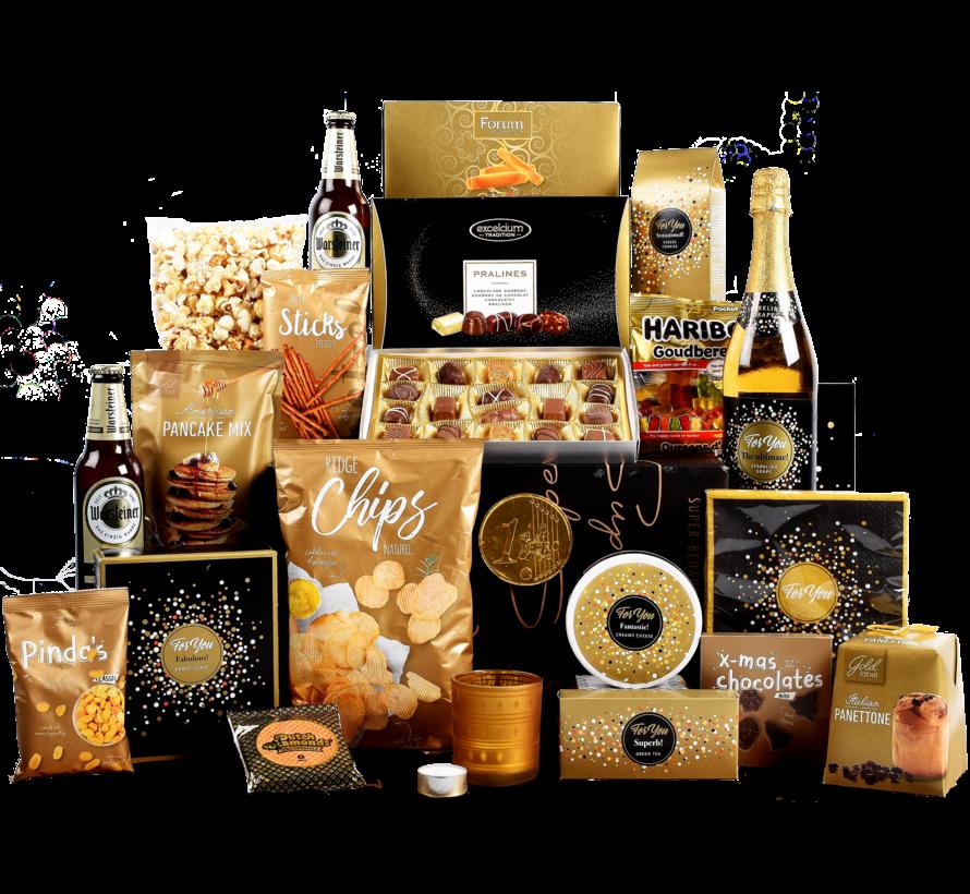 Kerstpakket Goud Genieten - 21% BTW