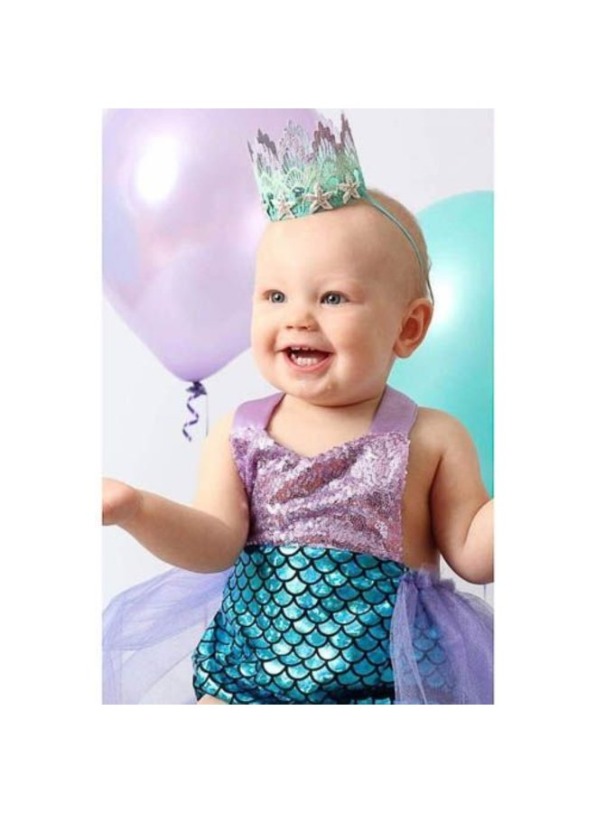Süßes Meerjungfrauenkleid