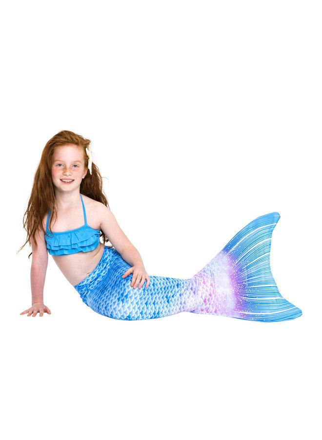 Blue Fantasy Meerjungfrauenflosse Größe XS