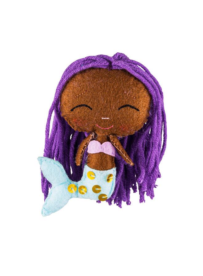 Meerjungfrau Glückspuppe