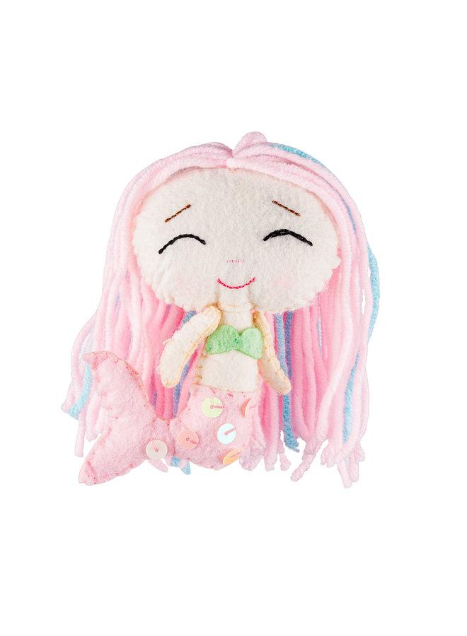 Pinky Meerjungfrau Glückspuppe