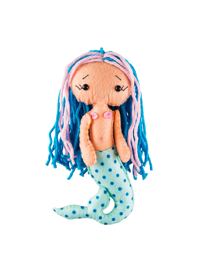 Meerjungfrau Glückspuppen
