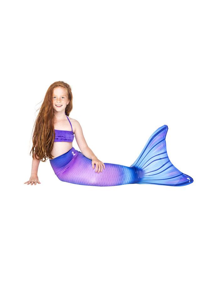 Purple Rain mermaid tail