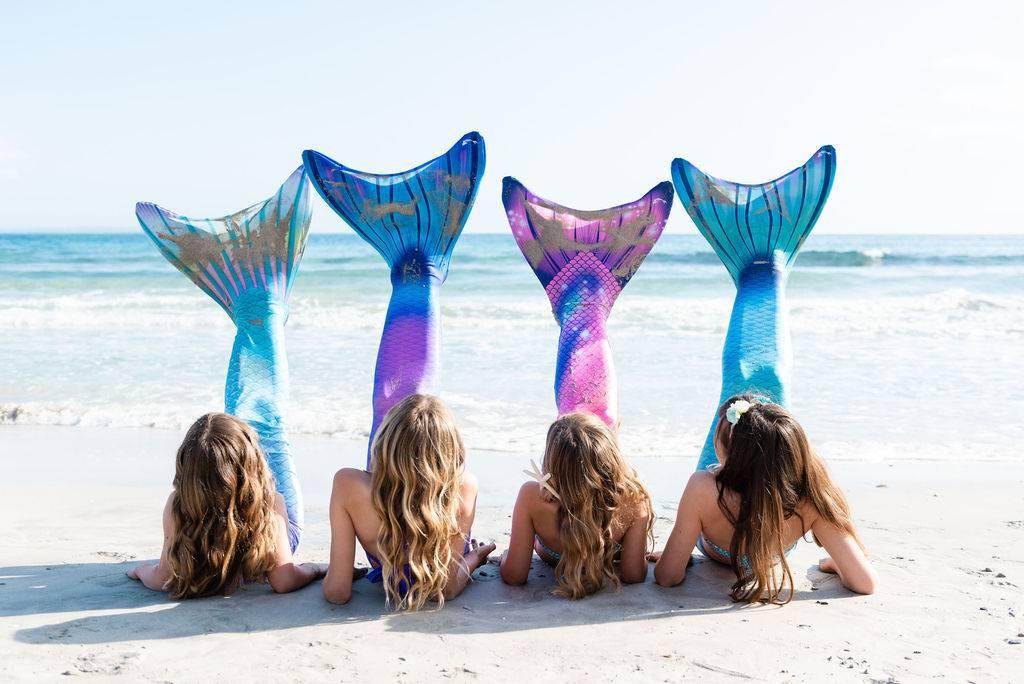 Meerjungfrauen Flossen