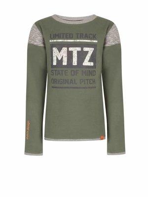 Mortenz Mortenz - jongens sweater leger groen