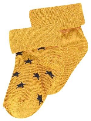 Noppies Noppies - baby sokken Levi geel