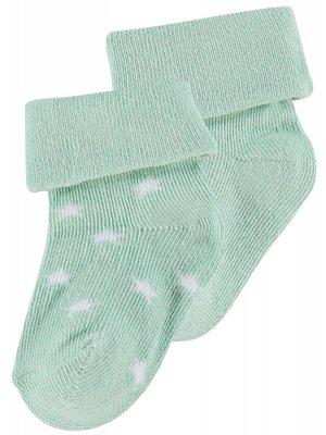 Noppies Noppies - baby sokken Levi mint